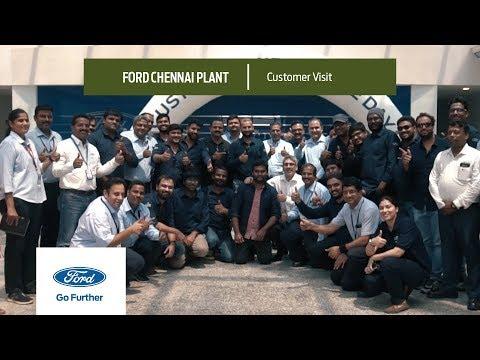 Ford Chennai Plant | Customer Visit