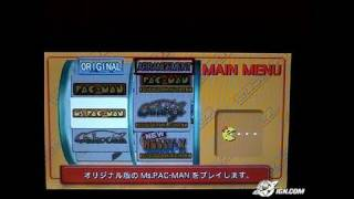 Namco Museum Battle Collection Sony PSP Gameplay - Pac-Man