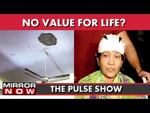 Mumbai: Ceiling Collapses On Woman's Head, Is Compensation Enough? I The Pulse Show