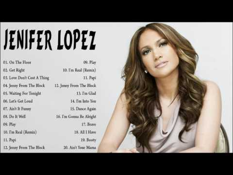 Jenifer Lopez Greatest Hits Collection || The Very Best of Jenifer Lopez .