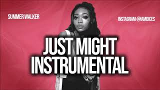 """Summer Walker """"Just Might"""" instrumental Prod. by Dices *FREE DL*"""