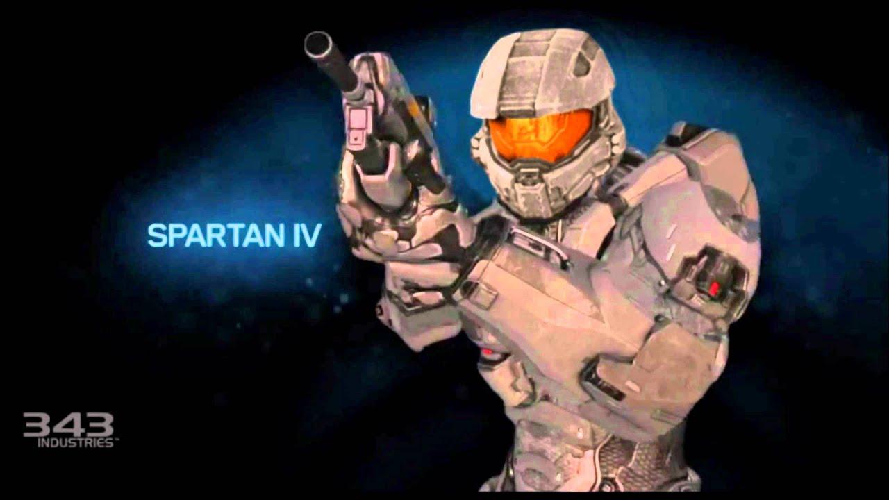 Master Chiefs Helmet In Halo 4 Multiplayer Youtube
