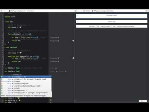 Xcode 6 beta using playground and Swift programming language! Mp3