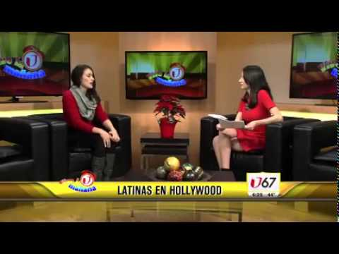 Vannessa Vasquez on Univision Vive la Manana