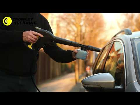 How To Clean Your Car With A Karcher Pressure Washer - Crowley Cleaning