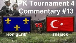 PK Tournament 4: snsjack vs KönigErik [Game 4] | Age of Empires III Commentary #13