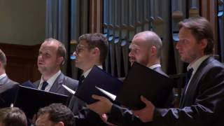 Сретенский хор - концерт в Большом Зале Консерватории, солист Дмитрий Корчак
