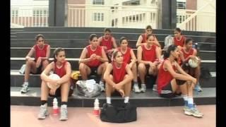 Indian Netball Team CWG 2010