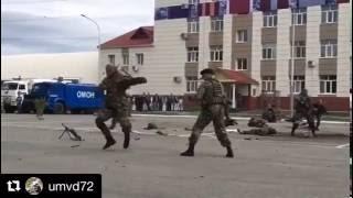 Видео: показательные выступления тюменского ОМОНа