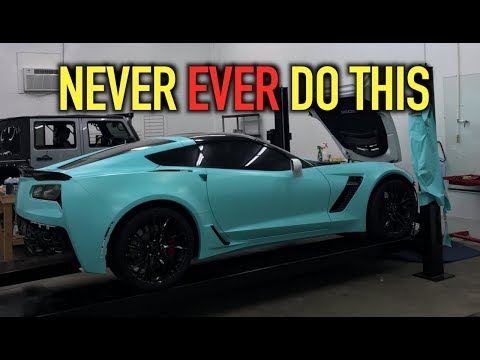 WATCH THIS BEFORE YOU VINYL WRAP YOUR CAR