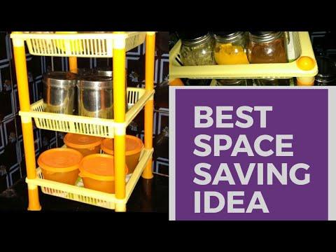 Kitchen Organization Ideas || Small Kitchen Counter Top Space Saving Ideas
