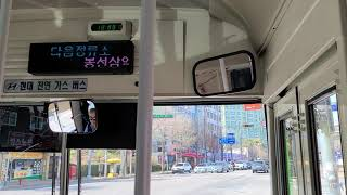 광주 남구 714번 고별시승기 (남구문화예술회관 → 명…