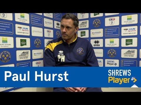 INTERVIEW | Paul Hurst pre Bolton Wanderers (H) - Town TV