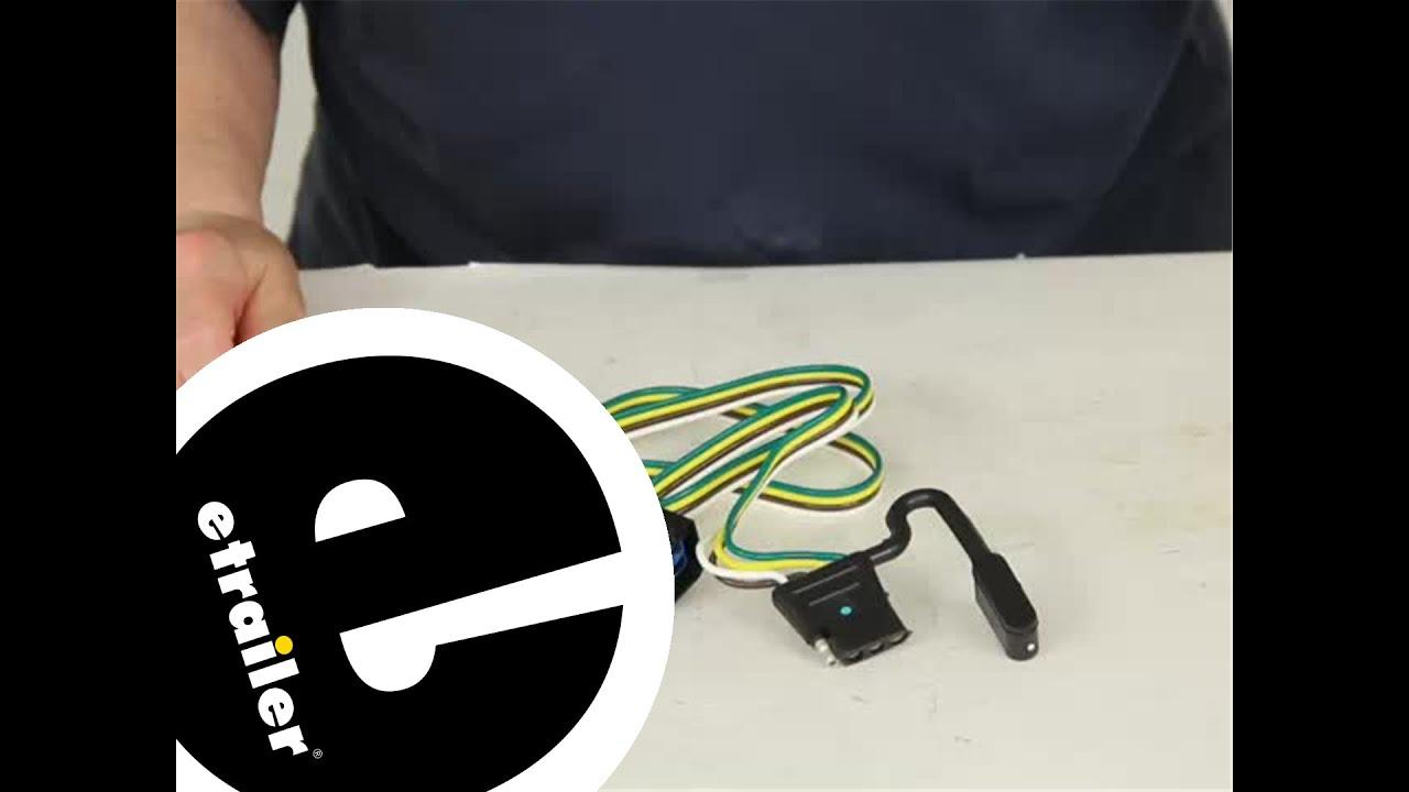 demo tow ready custom fit vehicle wiring 118381 etrailer com youtube rh youtube com