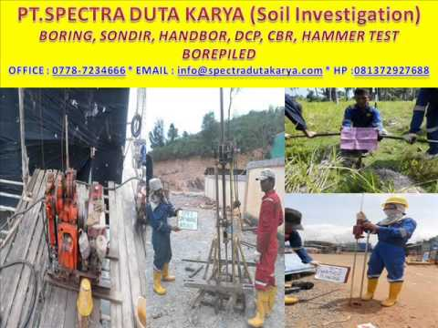 Soil tester soil investigation soil investigation batam for Soil investigation report