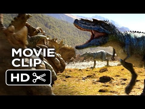 Walking With Dinosaurs 3D Movie CLIP - Gorgosaurus Attack (2013) - CGI Movie HD