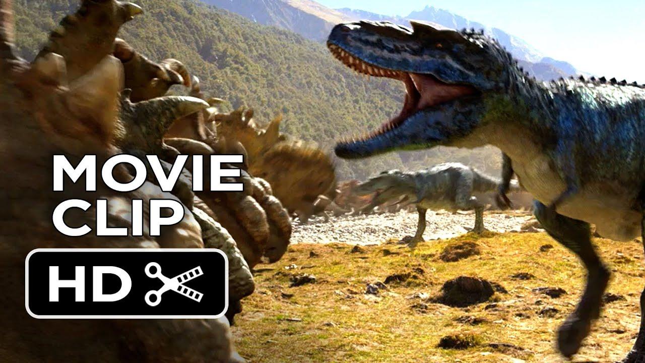 Walking With Dinosaurs 3d Wallpaper Walking With Dinosaurs 3d Movie Clip Gorgosaurus Attack