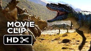 Walking With Dinosaurs 3D Movie CLIP - Gorgosaurus Attack (2013) - CGI Movie HD