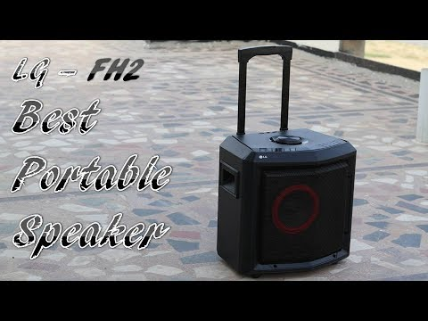 LG FH2 Portable Speaker Review | LG FH2 Karaoke Speaker Review | Best Portable Speaker