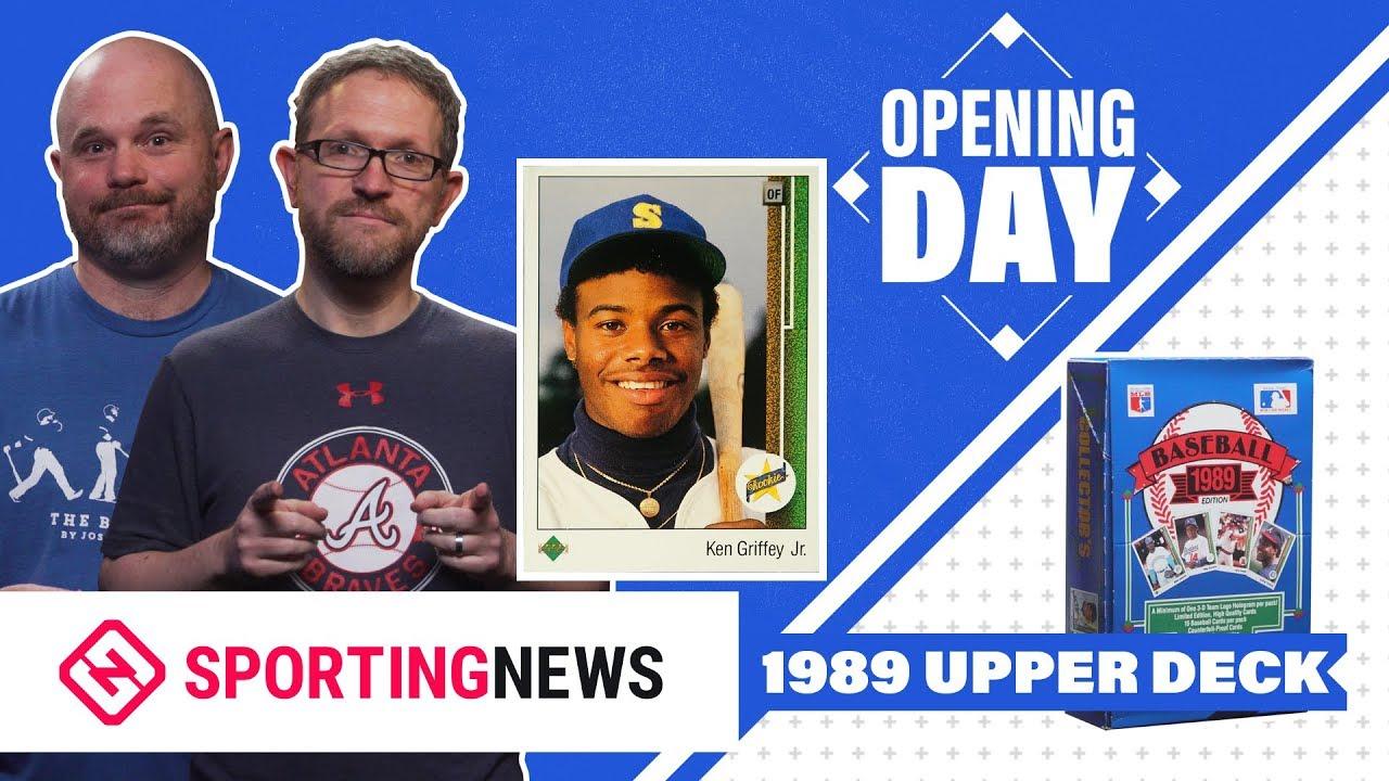 Opening Day 1989 Upper Deck Baseball Cards Box Break