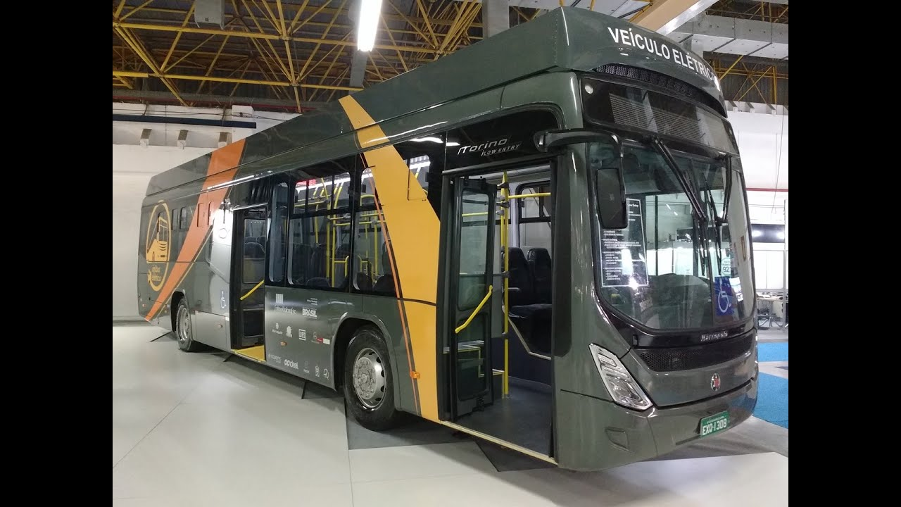E-Bus Marcopolo Torino G7 LE Mercedes-Benz O-500U - YouTube