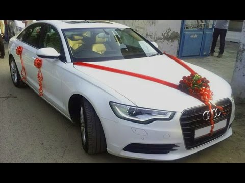 Decoration Audi Wedding Doli Car Hire In Sirsa - Audi car decoration
