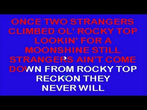Rocky Top Karaoke Instrumental