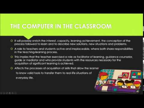 Importance of computer in comprehensive education