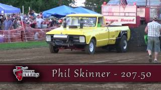 Central Illinois Truck Pullers - 2016 Two-Wheel Drive Super Stock - Truck Pulls Compilation