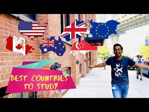 Best Country to Study | US vs UK vs Canada vs Australia vs Singapore | Ashish Fernando