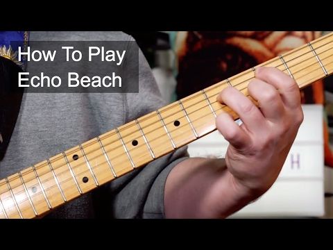 'Echo Beach' Martha & the Muffins Guitar Lesson