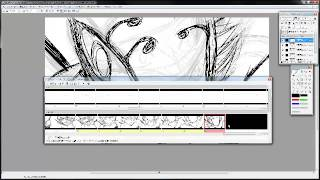 鋼鍊fa導演 入江泰浩 使用retas studio的stylos作畫實況
