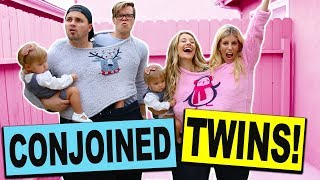 Download Conjoined Twins Challenge with Real Twin Babies! (Dance Battle Boys vs Girls) Mp3 and Videos