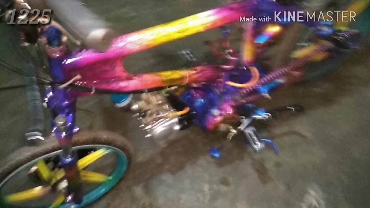 Gambar Modifikasi Sepeda Bmx Menjadi Drag Modifikasi Motor Supra Jadi Sepeda Part 2 Youtube