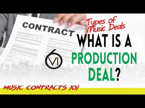 Ep. 81 - What Is A Production Deal