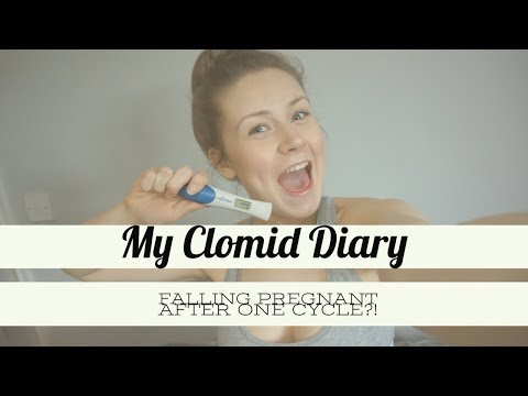Clomid Diary And Finding Out I Was Pregnant // Pregnancy After Infertility // We Found Our Wings