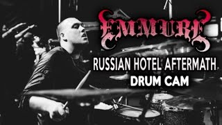 Emmure  Russian Hotel Aftermath  Drum Cam LIVE