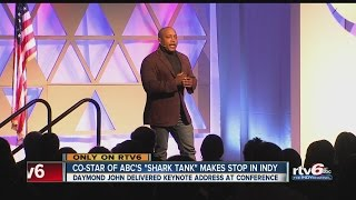 "Co-star of ABC's ""Shark Tank"" makes stop in Indy"