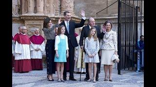 Королева Испании, напряженный момент между бывшей и нынешней королевой