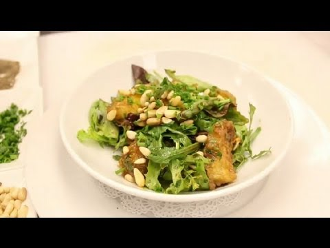 Roast Pumpkin & Pine Nut Salad : NYC Cuisine