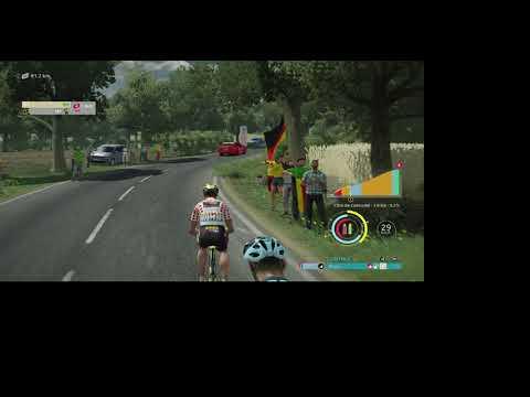 TDF Game 2021, Stage 3 of Tour De France playing as Jumbo Visma |
