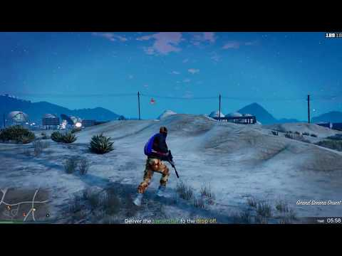 GTA V New Dawn Raid Adversery Mode Gameplay!