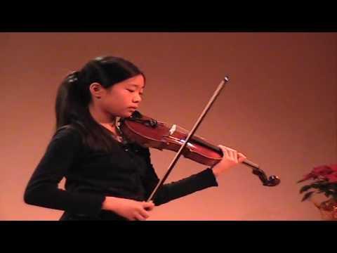 Ladusa Chang-Ou 10y old violinist - Vivaldi winter violin concerto