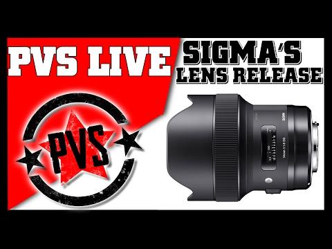PVS Live Show - Let's Talk Sigma's Lens Release