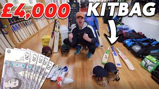 What's in Kieran's £4000 Cricket Kitbag for 2020 | Are £600 Bats Actually Worth It?