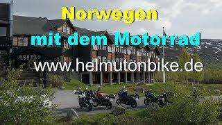 Norwegen Motorradtour 2017