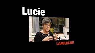 Paroles de chercheur-es: Lucie Lamarche