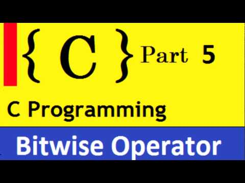 91. Bitwise NOT Operator | C Programming in Telugu from YouTube · Duration:  14 minutes 27 seconds