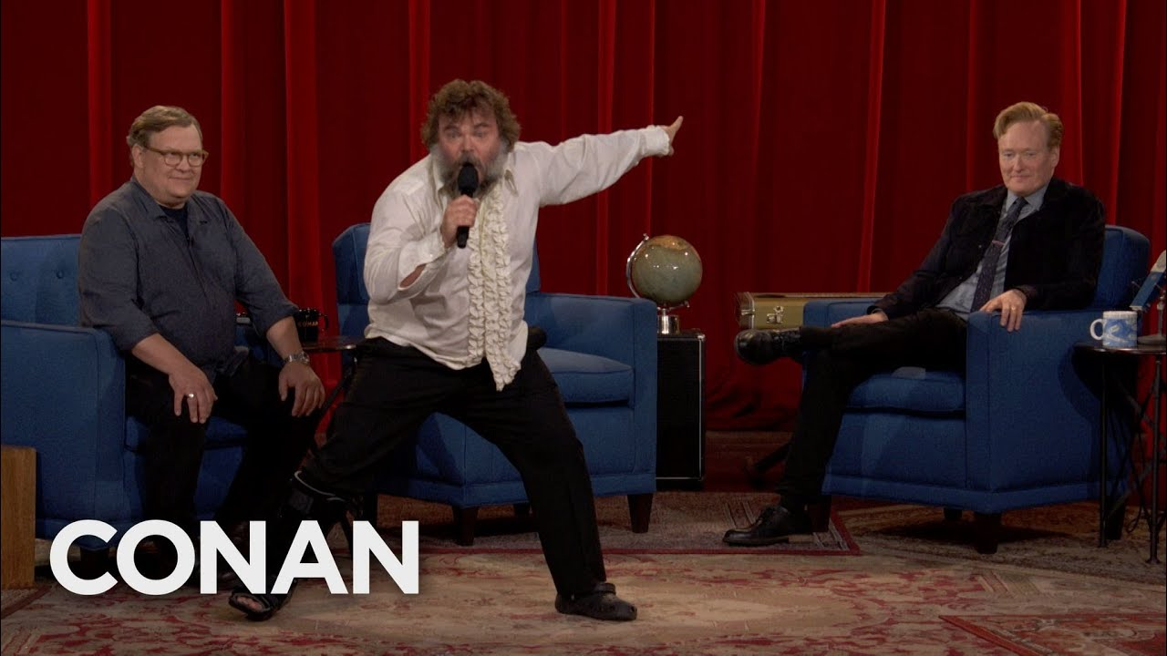 Download Jack Black Brings The Thunder To CONAN's Final Episode - CONAN on TBS