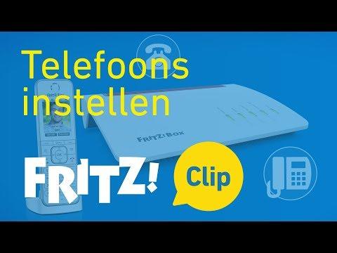 FRITZ! Clip – Telefoons instellen